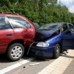 Two car collison