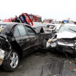 Five car accident