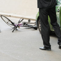 car-bicycle accident