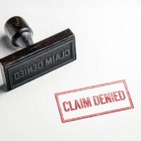 Claim denied