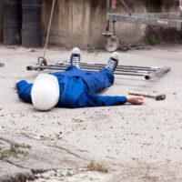 worker falls