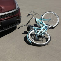 bicycle car accident