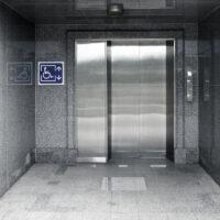 outside of elevator