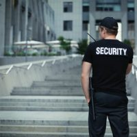 security on walkie talkie at jobsite