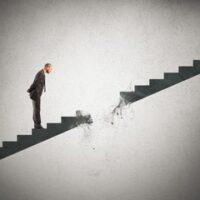 broken staircase